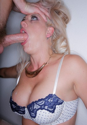 Gagging Blonde 31